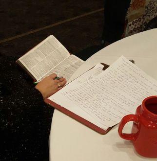 Journaling time taught by Sarah C.